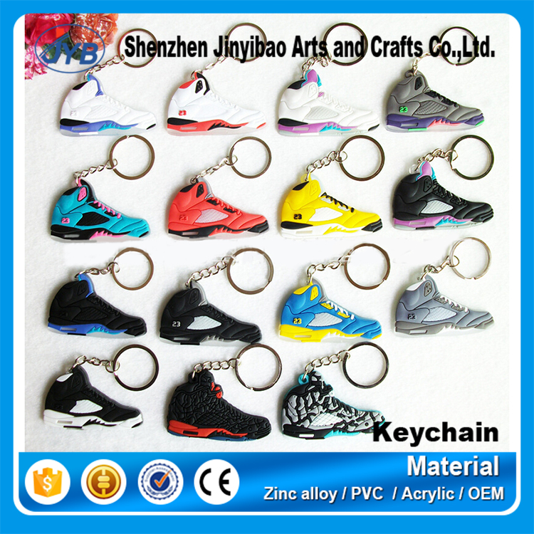 jordans sneakers shoes kerings men's air jordan basketball shoes keychains custom 3d air jordan keychains