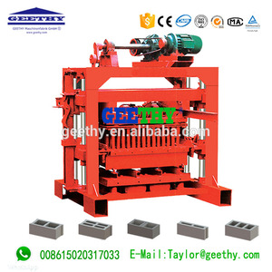 QTJ4-40 Cement block machine in india laying building With Good Service