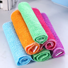 wholesale high quality 8 layers bamboo yarn kitchen Dish towel cleaning cloth set eco
