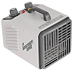 Comfort Zone Howard Berger Co Electric 1500W Personal Heater, CZ707