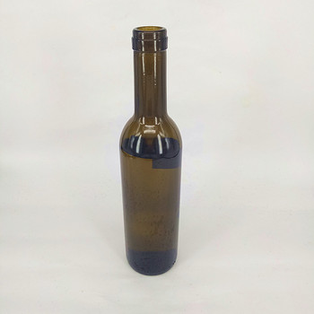 375ml dark green red wine glass bottle buy red wine for Red glass wine bottles suppliers