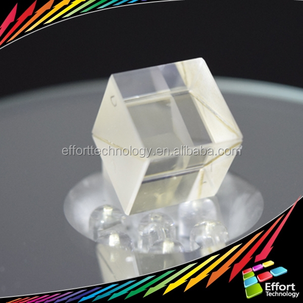 Optical Cube beam splitter polarizer cube from factory