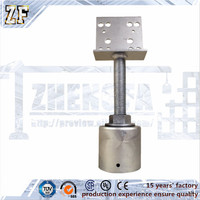 High quality Adjustable metal posts for house post building