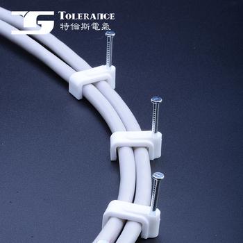Platz Kabel Clip Nail Wand Kabelklemme - Buy Kunststoff ...
