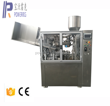 FWJ-60 Fully Automatic Tube Filling Closing tube filling sealing machinewith Hot Air Sealing Technology