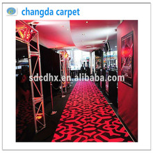 Good Quality Cheap Price Used Commercial Hotel velour Carpet
