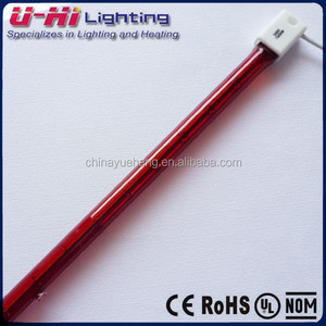 infrared quartz heater replacement lamp ruby red heat tube