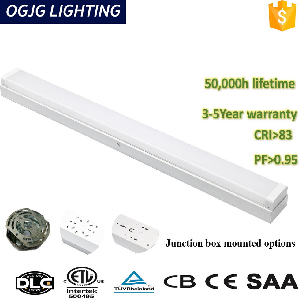 0-10v dimmable IP44 classroom storage room use linear batten light