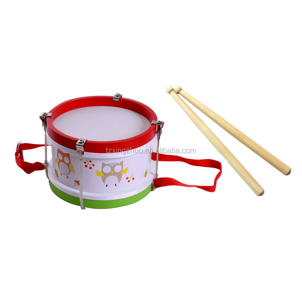 Certificated Educational Musical Preschool Wooden Drum Set Toys For