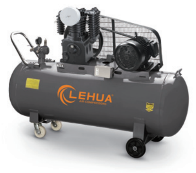 high pressure 12.5bar 5.5hp 300l air compressor