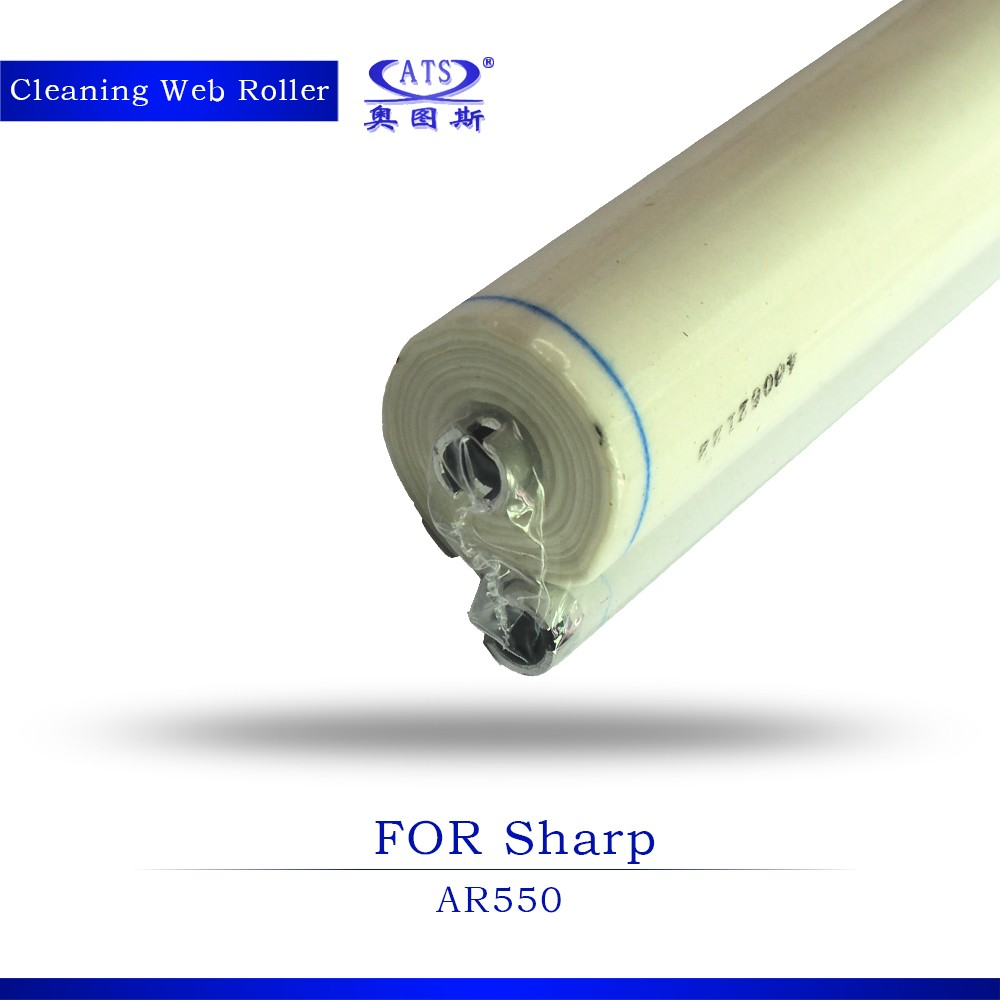 Cleaning web roller oil roller for copier AR550