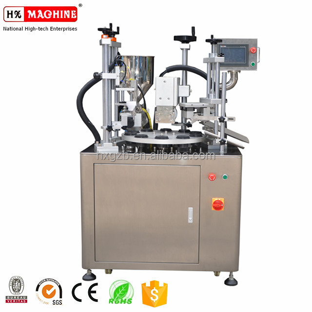 10ml-500ml Ultrasonic circular tubes Filling Sealing Machine Factory price CE certification with handing hole