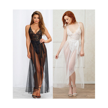 Sexy and seductive, searing personality, women's taste, interlocking pajamas, perspective dress, two suits.