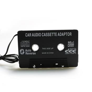 3.5mm AUX Car Audio Cassette Tape Adapter Converter for MP3 CD