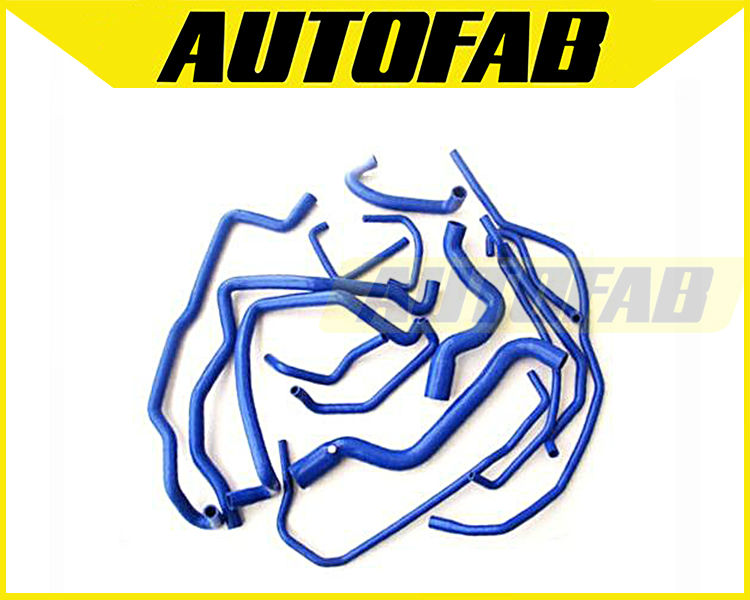 AUTOFAB - Radiator and Coolant hose kit for Renault 5 GT turbo (15 pcs) AF-RNR001