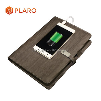 Promotional Premium Corporate Notebook with Power Bank USB