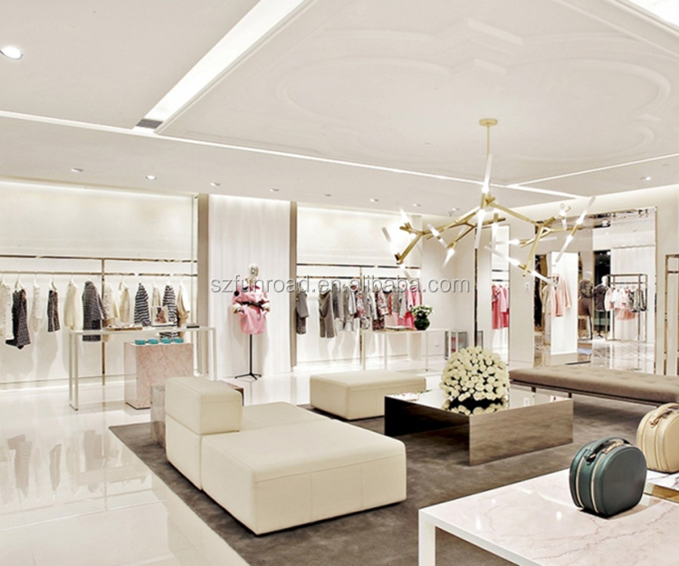 High End Clothing Retail Store Furniture Design