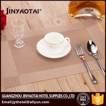 useful branded 100% cotton printing placemat laminated place table mats