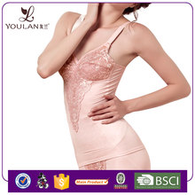 China Supplier Fitness Mature Women Slmming Open Cup Corset Bustier
