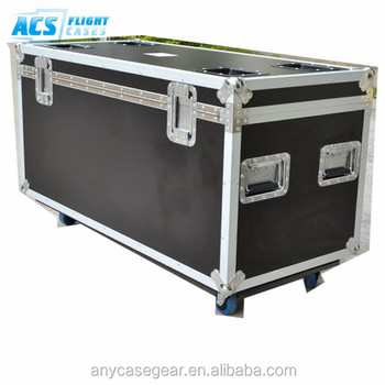 Utility Cable Road Trunk Flight Cases W/ Caster Board, custom flight case , flight case road case with PENN hardware from ACS