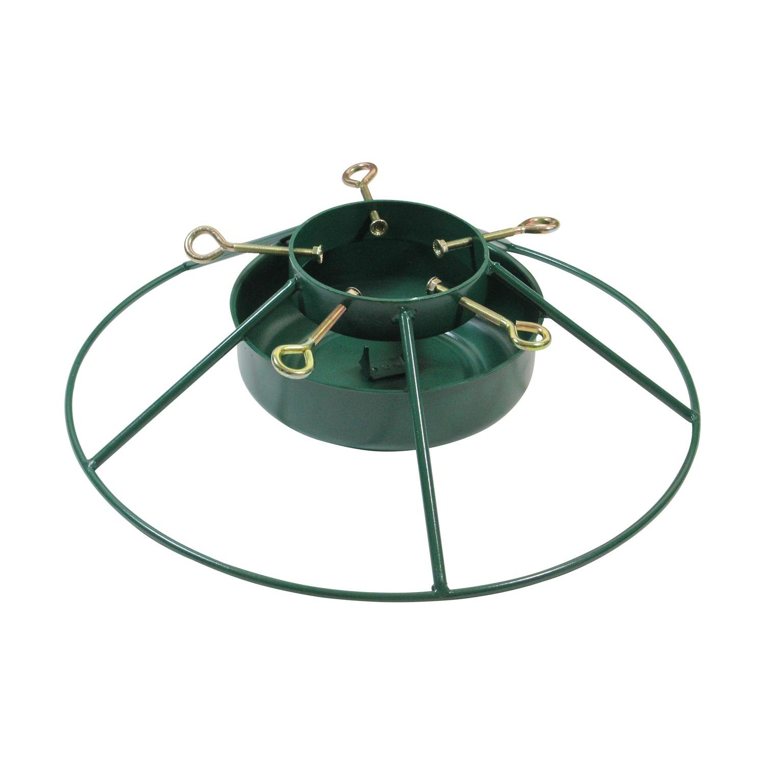 get quotations jack post heavy duty iron mountain christmas tree stand for real live trees up to