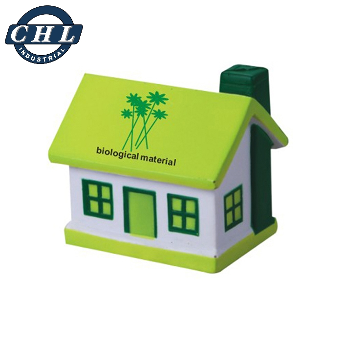 Factory direct wholesale eco friendly biodegradable PU stress house