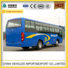 china shaolin brand seats 80 seater bus and any seats for option