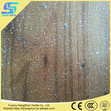 Polyester Gilded Hexagonal Sequin Mesh Fabric
