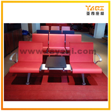 Lounge airport waiting chair for 2 people with table YA-35+T