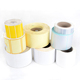 Custom size sticker spot blank print roll coated paper pvc pp label