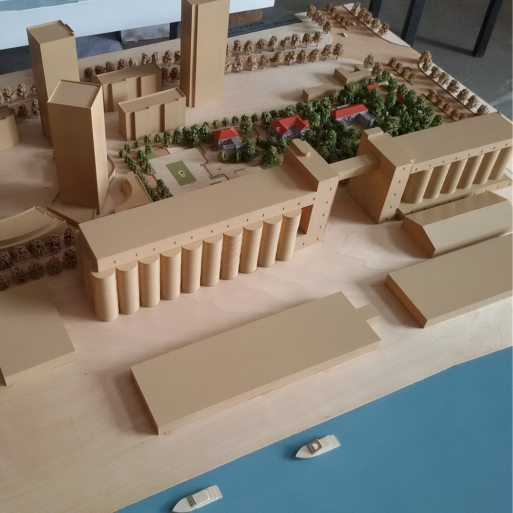 Quality 1 : 500 Scale Design Plan Architectural Model Working ...