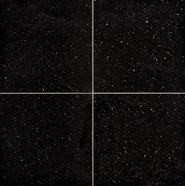 Natural Granite Black Ceramic Tile