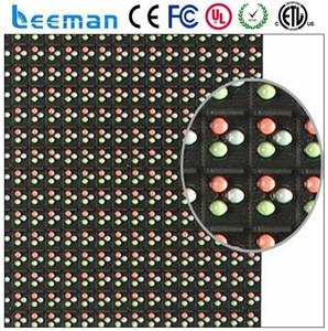 led running sign/board Outdoor P6 RGB DIP LED MODULE led modules circuit diagram