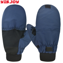 Winter waterproof ice heated fishing gloves mittens insulated crabbing fisherman winter warm gloves for men women