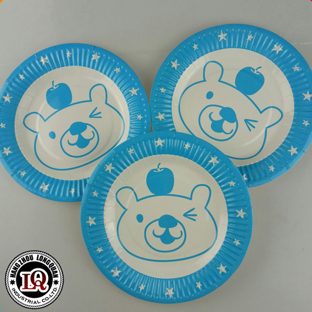 Disposable Custom Printed Paper Plate Party Use & China Custom Printed Paper Plate Wholesale 🇨🇳 - Alibaba