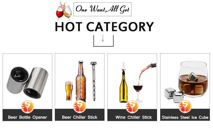 Amazon  FDA LFGB Approved Best Seller Beer Wine Cooing Chiller Cooling Stick