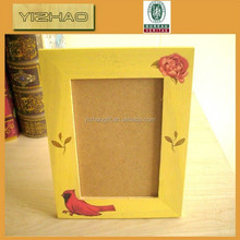 Eco-friendly Decorative Antique old sexy 2x2,6x4 wooden Photo Picture Frame