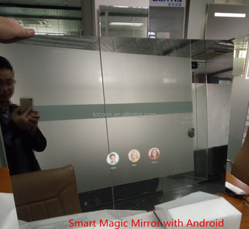 magic smart mirror tv with build in android system buy smart tv