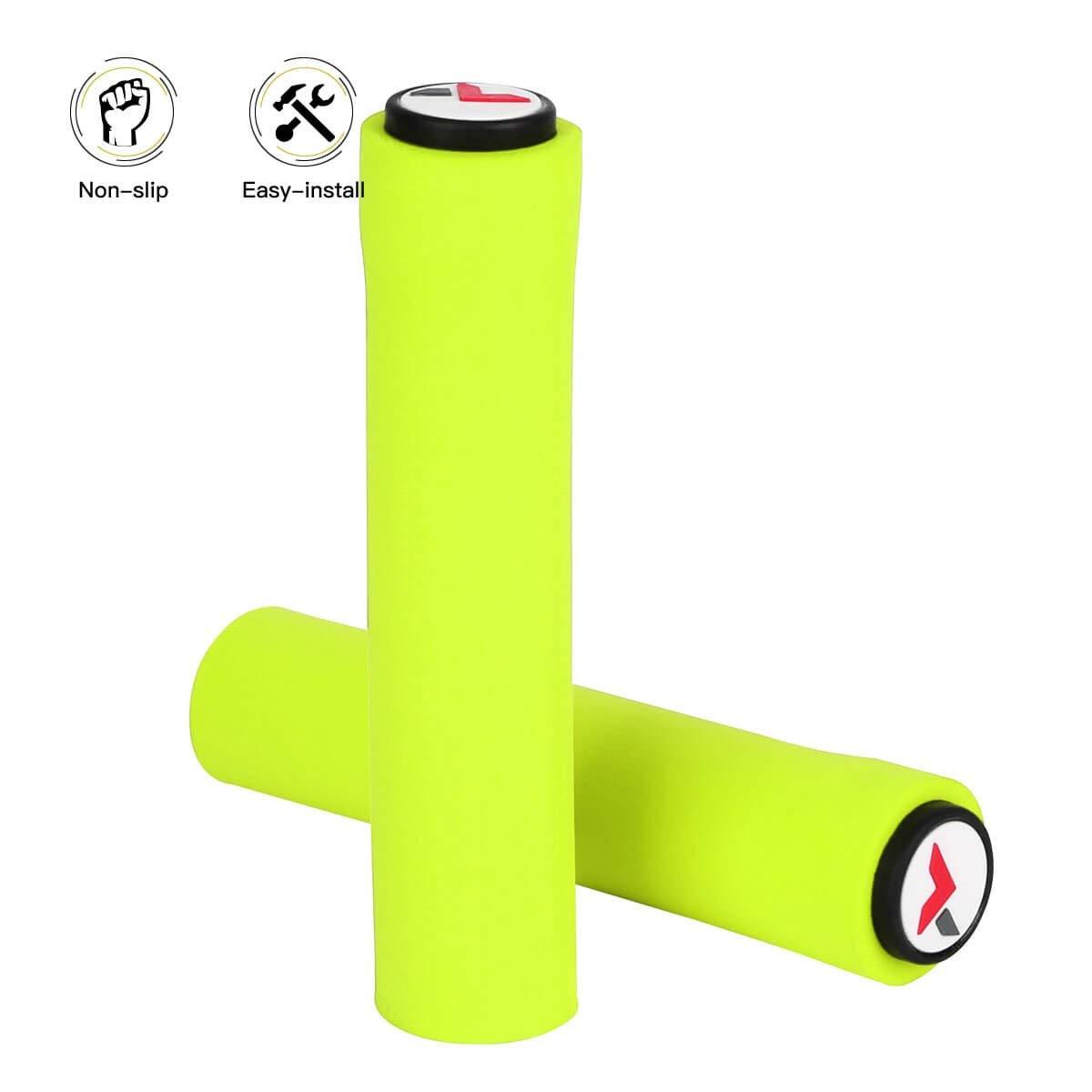 Anti-Slip CNC Aluminum Rubber Bike Bicycle Handle Bar for Bike Bicycle VGEBY Handlebar Grips