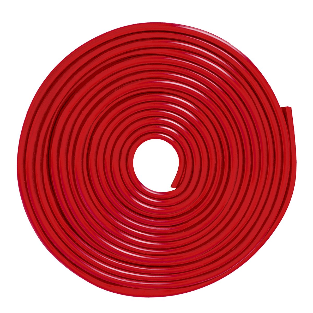 16ft//5M Red Car Door Moulding Rubber Scratch Protector Strip Edge Guard Trim