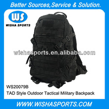 Wholesale Black 1000D Nylon Oxford Fabric 50L Waterproof tactical military bag backpack