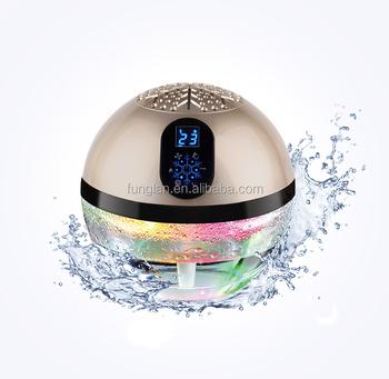 OEM Luftbefeuchter Kugel Globe Water Air Purifier Air Freshener Air Ionizer  Uv Ionizer Colour Led PATENT