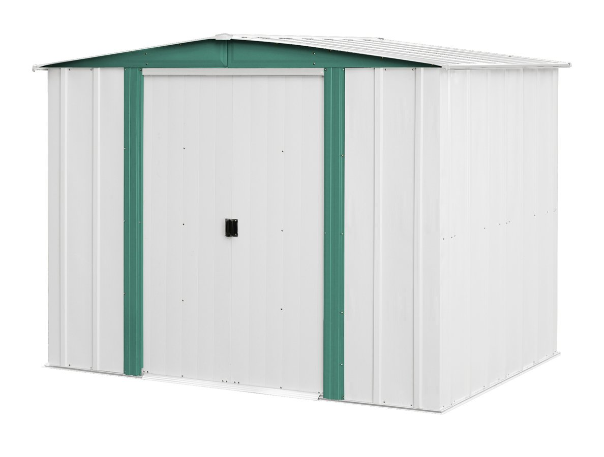 Get Quotations Arrow Sheds Hm86 Hamlet Steel Storage Shed 8 By 6 Feet