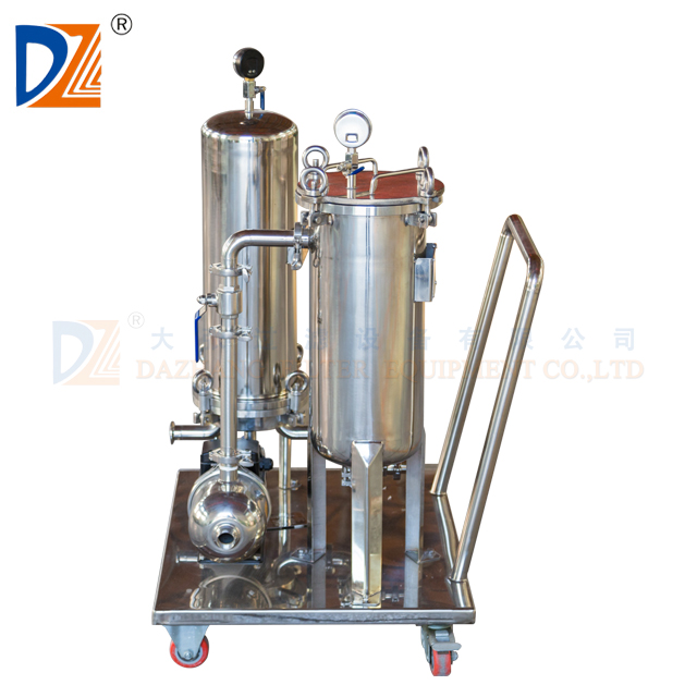 Rvs cartridge filter behuizing Machine