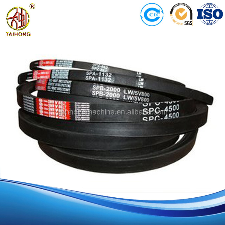 2017 cheap outdoor automatic High performance Rubber Banded link v belt