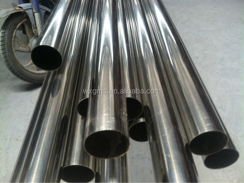 wleded stainless steel tube grade 201 304 316L sued for build structure