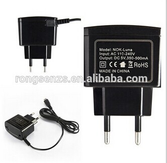 Zhongshan charger factory manufacturer 5v 2a micro usb wall charger