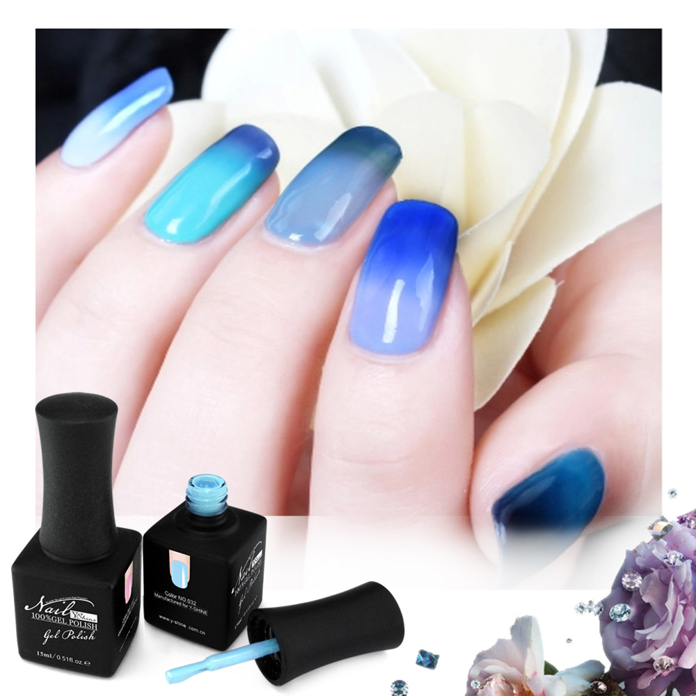 15 ml Manicure Beauty Art Temperatura del Cambiamento di Colore Chameleon UV Led Gel Del Chiodo