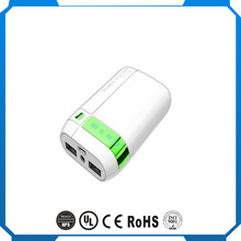 2017 New Arrival 7800mah Portable Universal li-ion power bank, ce rohs fcc charge treasure