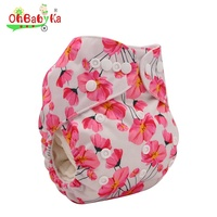 2019 Wholesale New Design Washable Breathable Microfiber Nappy Baby Cloth Diapers